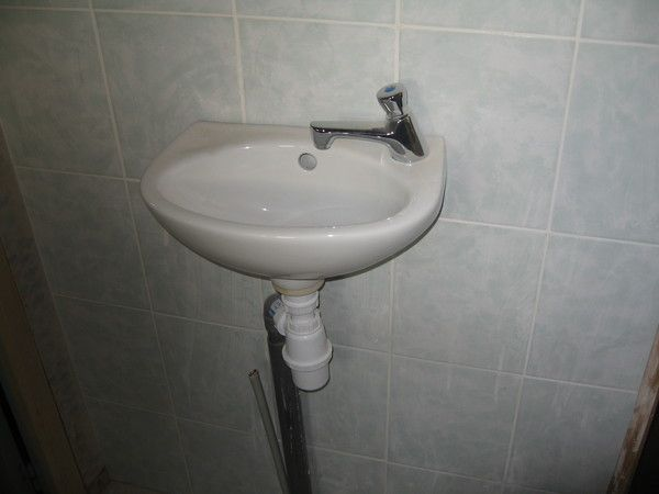 Un petit lavabo - Installer un lavabo salle de bain ...